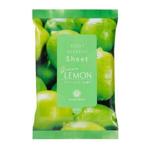 ハウスオブローゼ/ボディリフレッシュシート GL (グリーンレモンの香り)