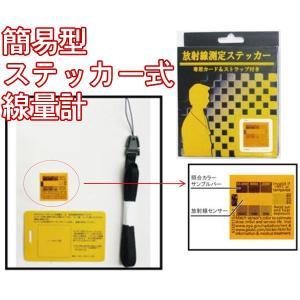 放射線測定カード|houshin