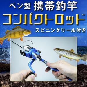 ペン型携帯釣竿|houshin