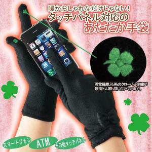 タッチパネル対応あったか手袋 houshin