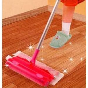 掃除機!掃く拭く同時!楽チン掃除機|houshin