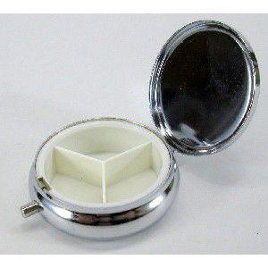 携帯ピルケース金属丸形(デコ素材)|houshin