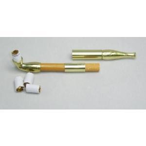 きせるキセル煙管 手造り健康節約キセル(ショート)真鍮|houshin