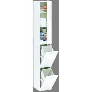 エムケー 分別ダストボックス CLD−131W 2分別上部空間利用タイプ housingplaza