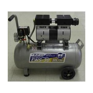 静音オイルレス コンプレッサー30L EWS-30|housingplaza
