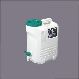 ヒシエス水缶 コック付ポリタンク PCコード#12|housingplaza