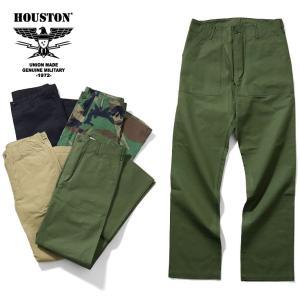 HOUSTON ヒューストン 1881 RIPSTOP FATIGUE PANTS / リップストップファティーグパンツ -全4色-|houston-1972