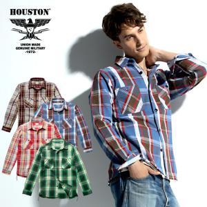 HOUSTON / ヒューストン 40764  CHECK VIYELLA SHIRT / チェックビエラシャツ -全4色- ネルシャツ|houston-1972
