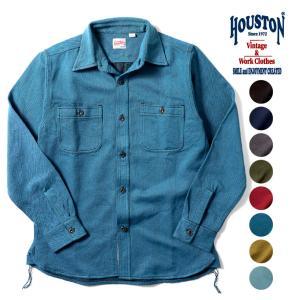 HOUSTON / ヒューストン 40766  SOLID VIYELLA SHIRT /ソリッドビエラシャツ -全8色- ネルシャツ|houston-1972