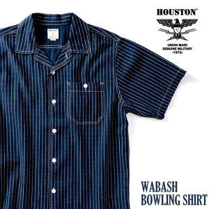 HOUSTON / ヒューストン  40861 WABASH BOWLING SHIRT/ウォバッシュボーリングシャツ-全2色- houston-1972