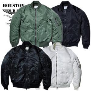 HOUSTON / ヒューストン  5013 MA-1 GROUND CREW / MA-1 グランド クルー -全4色-|houston-1972