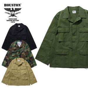 HOUSTON / ヒューストン 50867 RIPSTOP BDU JACKET / リップストップBDUジャケット -全2色-|houston-1972