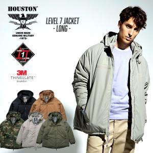 HOUSTON / ヒューストン  51086  LEVEL7 JACKET LONG / ロング レベル7ジャケット -全5色-|houston-1972
