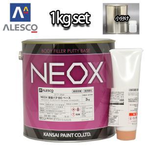 (商品内容) ●NEOX鈑金パテ80 標準 970g ●ブラウン硬化剤 30g ●説明書 ※パテは無...