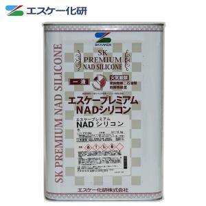 オーダ品 送料無料!エスケー化研 プレミアム NAD シリコン 艶有り 黒(割高色) 15kg【メー...