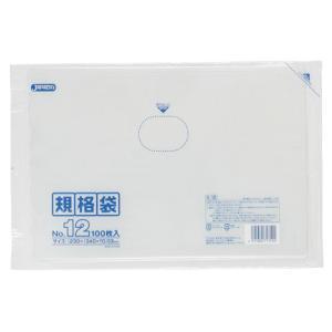 ジャパックス LD規格ポリ袋 0.03mm厚 No.12 K-12 230×340mm 1ケース4000枚入り|houzainokura