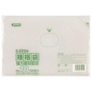 ジャパックス LD規格ポリ袋 0.025mm厚 No.10 KS10 180×270mm 1ケース6000枚入り|houzainokura