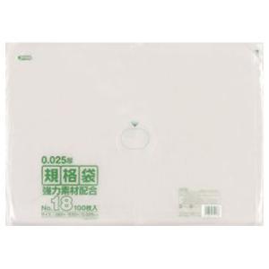 ジャパックス LD規格ポリ袋 0.025mm厚 No.18 KS18 380×530mm 1ケース1500枚入り|houzainokura
