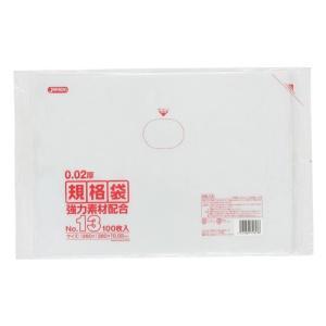 ジャパックス LD規格ポリ袋 0.02mm厚 No.13 KN13 260×380mm 1ケース6000枚入り|houzainokura