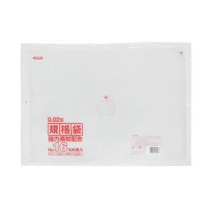 ジャパックス LD規格ポリ袋 0.02mm厚 No.16 KN16 340×480mm 1ケース2500枚入り|houzainokura