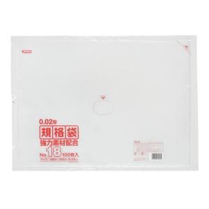 ジャパックス LD規格ポリ袋 0.02mm厚 No.18 KN18 380×530mm 1ケース2500枚入り|houzainokura