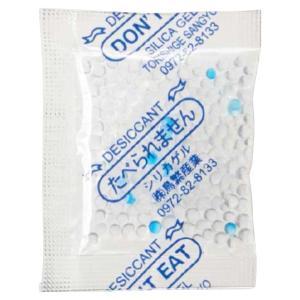 鳥繁産業 包装用乾燥剤 シリカゲル SP-5g 60×50mm 1ケース3000個入り(箱タイプ小袋入り)|houzainokura