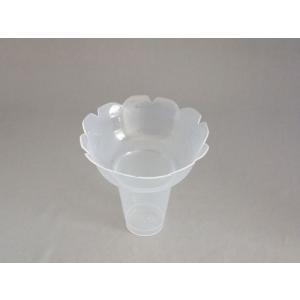 シンギ フラッペカップ PPフラッペ小 ナチュラル φ130×120mm 1ケース300個入り|houzainokura