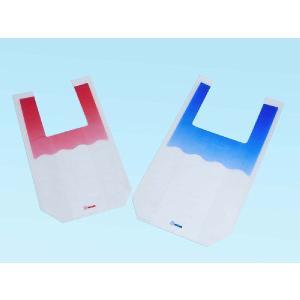 信和 PEスイカ袋 中 赤 スイカMサイズ(約5kg)用 #60 230/370×460mm 1ケース1000枚入|houzainokura