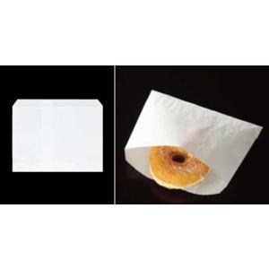 大阪ポリエチレン販売 7872 耐油紙袋 No69 耐油紙レジ用小 180×125+18mm 1ケース1000枚入|houzainokura