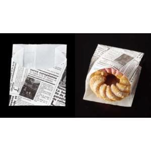 大阪ポリエチレン販売 7145 耐油紙袋 No210 ヨーロピアンハーフムーン 90(マチ35)×62+45mm 1ケース1000枚入|houzainokura