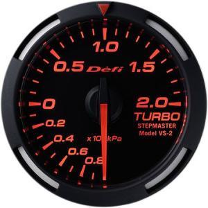 デフィ メーター レーサーゲージ (Racer Gauge) Φ52 レッド ターボ計 -100kPa〜+200kPa DF06505 送料無料|howars
