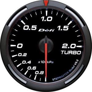 デフィ メーター レーサーゲージ (Racer Gauge) Φ60 ホワイト ターボ計 -100kPa〜+200kPa DF11506 送料無料|howars