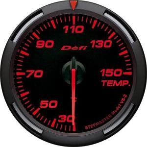 デフィ メーター レーサーゲージ (Racer Gauge) Φ60 レッド 温度計 (油温計・水温計) 30〜150℃ DF11705 送料無料|howars