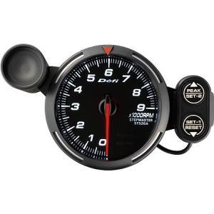 デフィ メーター レーサーゲージ (Racer Gauge) Φ80 ホワイト タコメーター 0RPM〜9000RPM DF12003 送料無料|howars