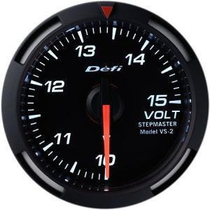 デフィ メーター レーサーゲージ (Racer Gauge) Φ52 ホワイト 電圧計 10〜15V DF07006 送料無料|howars