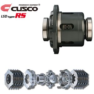 CUSCO LSD type-RS 1WAY リア用 ハイゼットトラック S201P S211P KF-VE  MT 農用車/デフロック車不可 標準デフ:オープン|howars