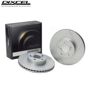 送料無料 DIXCEL SDブレーキローター インプレッサ WRX GC8 98/1〜98/8 クーペ typE R Vリミテッド (E型) リア用左右1セット