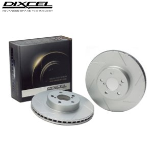 送料無料 DIXCEL SDブレーキローター プレオ RV1 98/4〜03/12 A〜E型 フロント用左右1セット