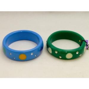○ ANNA SUI バングル 2点セット ブルー / グリーン 美品