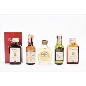 ♭酒  ウイスキー ミニチュアボトル 5種セット コレクショ...