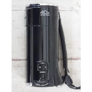 ☆ JVC ビデオカメラ ハイビジョンメモリームービー GZ-HM450-B 10年製 クリアブラック 125万画素 光学40倍ズーム 内蔵メモリ8GB 1903LS026|howmuch|04