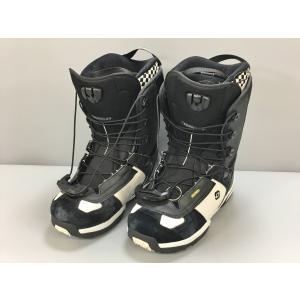サロモン Salomon ダイアログ ワイド スノーボードブーツ 27cm ブラック ホワイト DI...