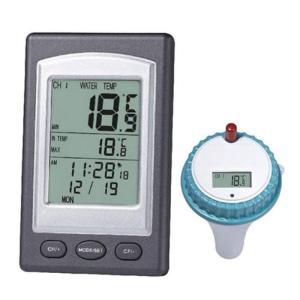 【発売元】 ITPROTECH  【商品説明】 ワイヤレス 水温計 室内温度計  温度測定、お風呂、...