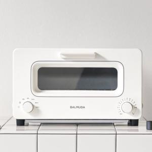 \10月18日出荷予定/バルミューダ (BALMUDA) スチームオーブントースター The Toaster K01E-WS (K01EWS) ホワイト JAN:4560330117862 -人気商品-|hows-yho