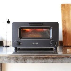 \10月18日出荷予定/バルミューダ (BALMUDA) スチームオーブントースター The Toaster K01E-KG (K01EKG) ブラック JAN:4560330117879 -人気商品-|hows-yho