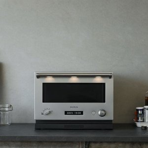 \10月25日出荷予定/バルミューダ ザ レンジ 18L BALMUDA The Range フラット庫内オーブンレンジ K04A-SU (K04ASU) ステンレス -人気商品-|hows-yho