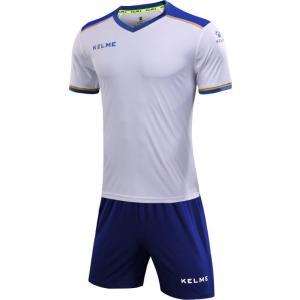 759ee3b846e9c KELME ケレメ フットボールシャツ&パンツセット ジュニア サッカー・フットサルウェア 3873001 WH ロイヤルブルー 140