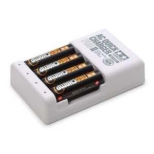 タミヤ(TAMIYA) 単3形ニッケル水素電池 ネオチャンプ(4本)と急速充電器PRO II(551...