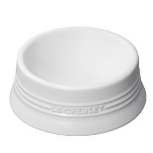 ル・クルーゼ(Le Creuset) ペットボール(M) ホワイト 910249-02-01 防汚 ...