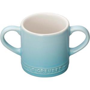 【発売元】 ル・クルーゼ ジャポン  【商品説明】 ●両脇に持ち手がついたお子様向けのマグカップ ●...